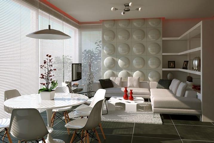 wohn esszimmer  elegante Lsungen fr kleine Wohnungen