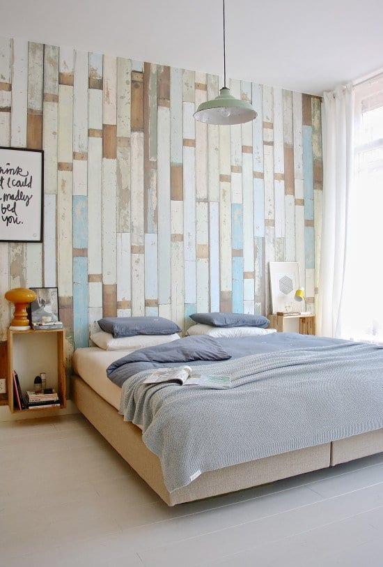 Bett Design Schlicht Holz