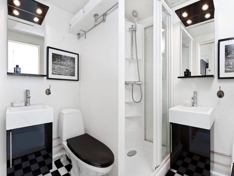 wohnen im kleinen Appartement  Einrichtungsidee fr Zweiraumwohnung  fresHouse