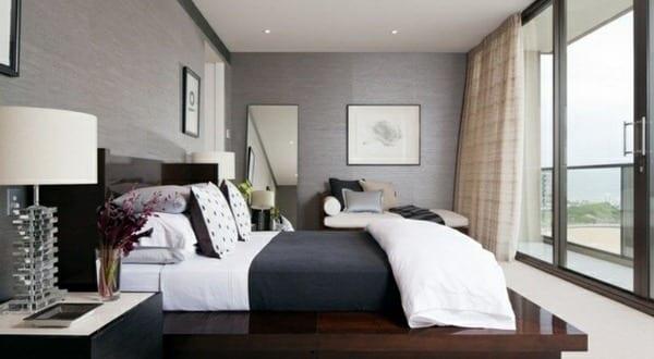 wohnzimmer inspiration fr kleine schlafzimmer grau