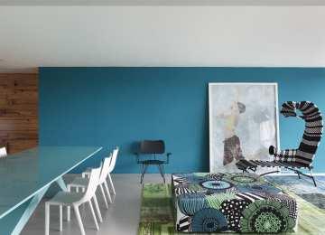 Wandgestaltung Wohnzimmer Blau Wohnzimmer Fliesen Design