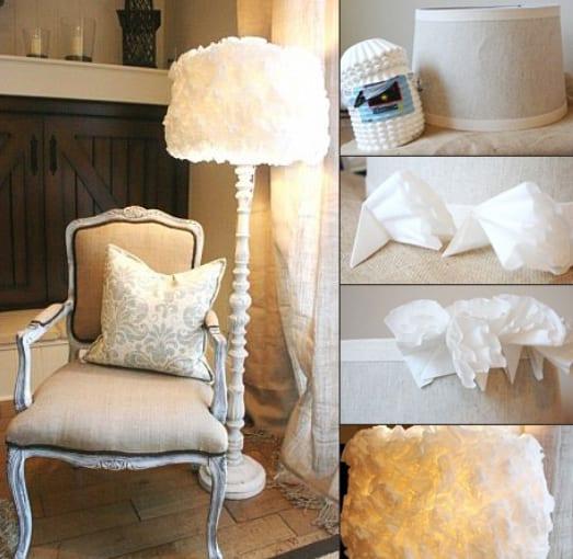 35 Bastelideen für DIY Lampe - fresHouse