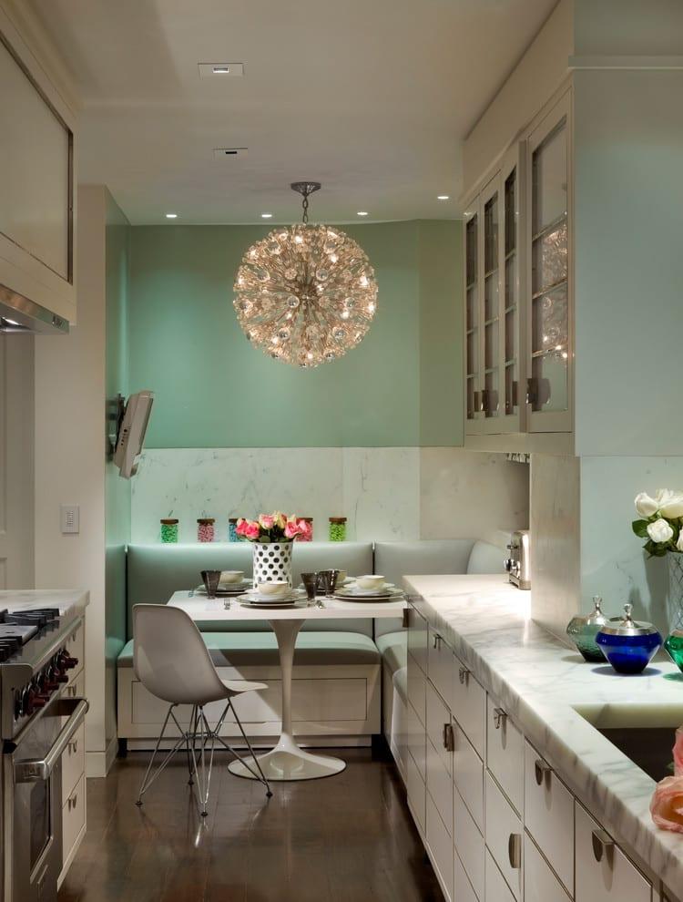 kuche farbgestaltung weisse kuche wandfarbe ideen l - boisholz - Wandfarben 2015 Kche