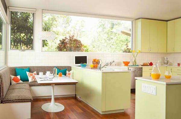 Moderne Sitzecke Küche