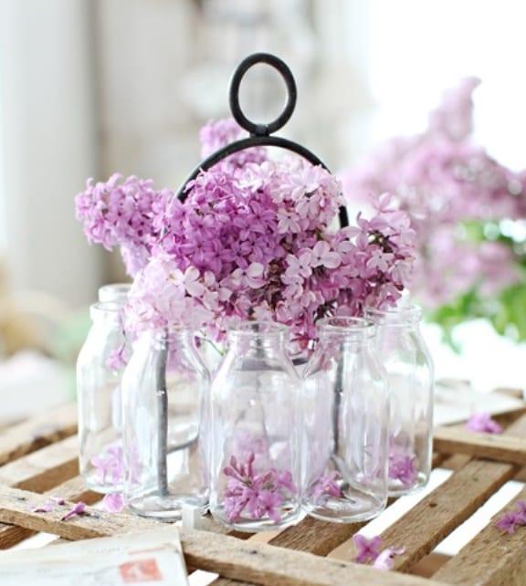 Frhlingsdeko mit Frhlingsblumen  fresHouse