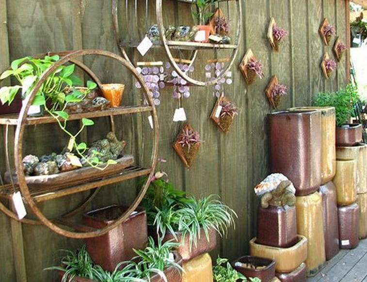 Ideen Fur Gartendeko Selber Machen Gartenmauer Dekorieren Mit Diy Gartendeko