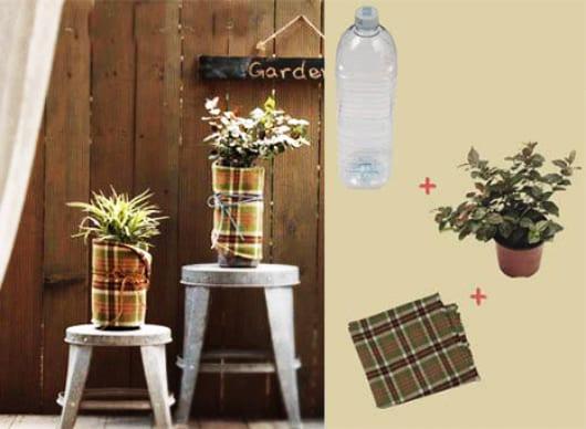 Bastelideen mit PETFlaschen fr DIY Blumentpfe  fresHouse