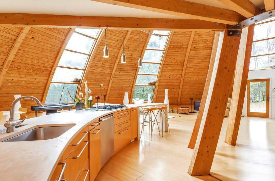 Das rotierende Rundhaus aus Holz  fresHouse