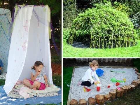 garten für kind abenteuerspielplatz für kinder zum spielen im freien - freshouse