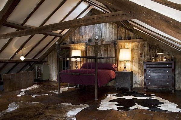 Schlafzimmer mit Dachschrge gemtlich gestalten  fresHouse
