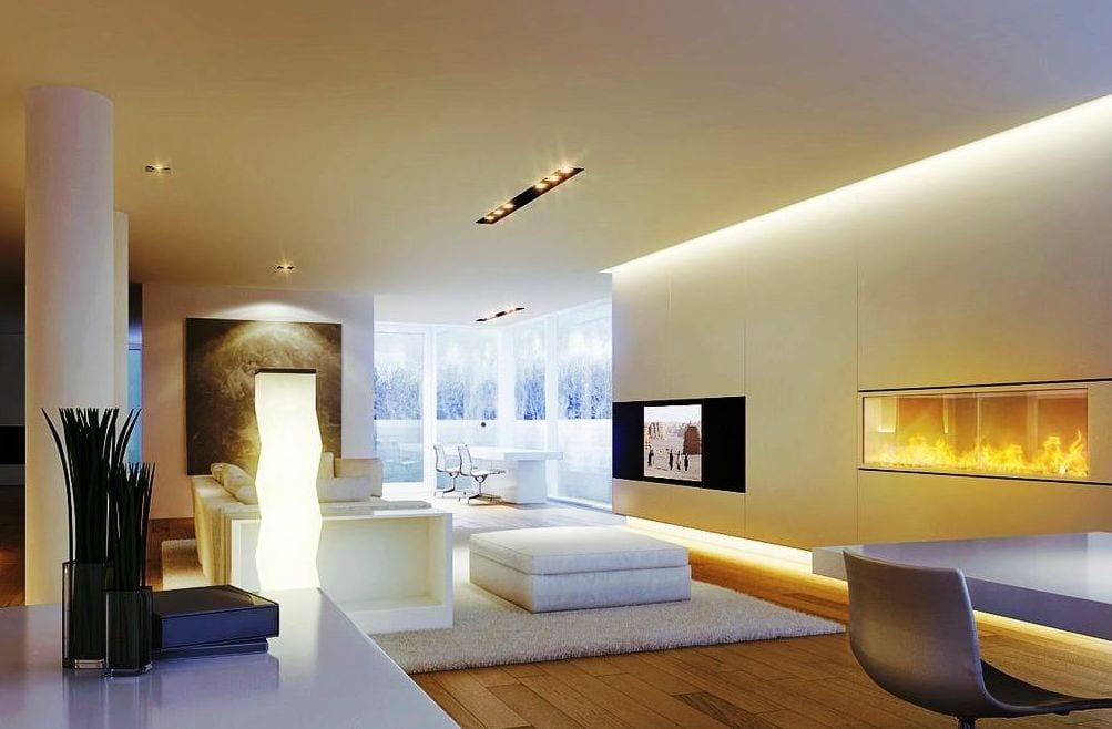 Indirekte Beleuchtung Wohnzimmer Led