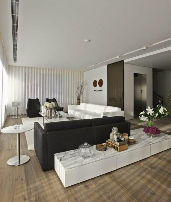 Wohnzimmer deko schwarz weiss  Deko Wohnzimmer Schwarz ~ Kreative Ideen für Ihr Zuhause-Design
