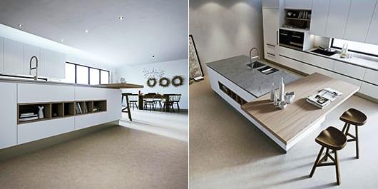 eine moderne Kochinsel fr luxurise Kchen  fresHouse