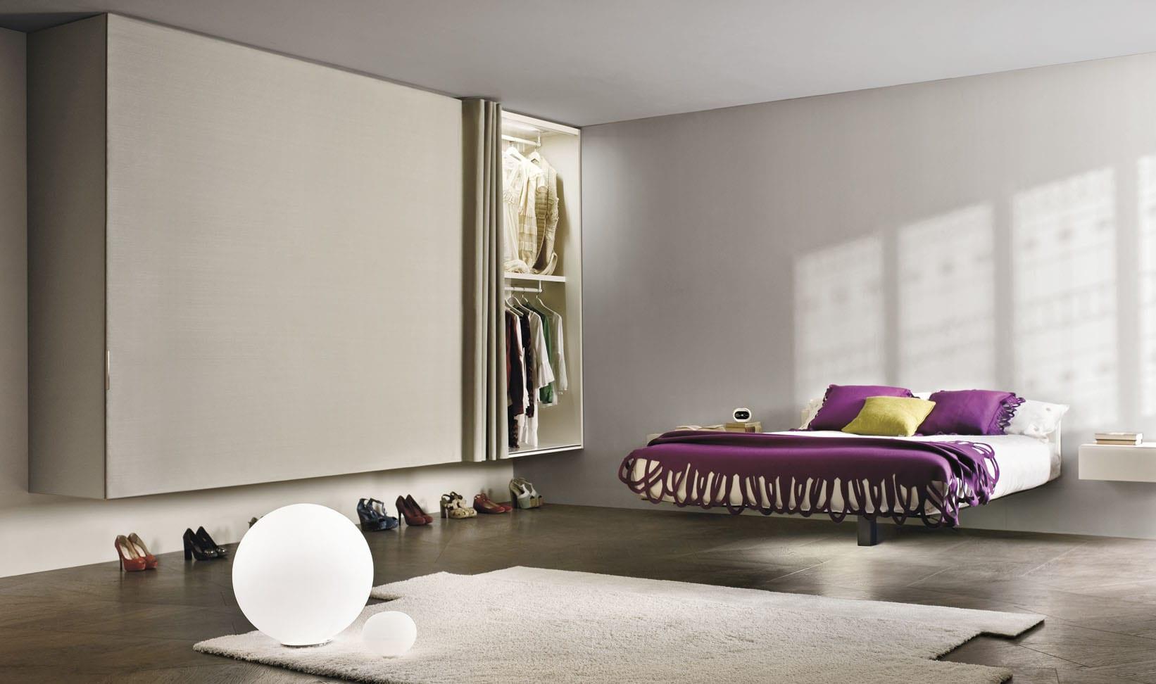 moderne mbel fr minimalistische schlafzimmer einrichtung in wei  fresHouse
