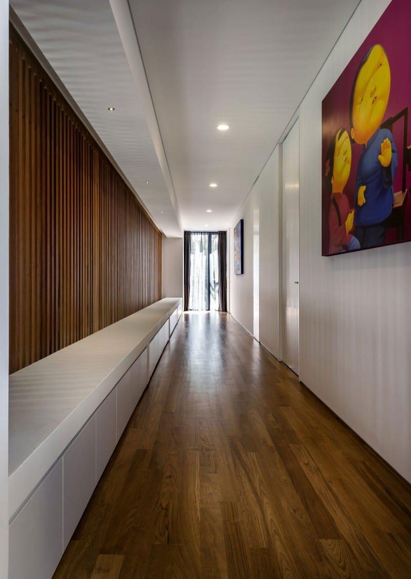 Moderne Flurgestaltung und beleuchtung  fresHouse