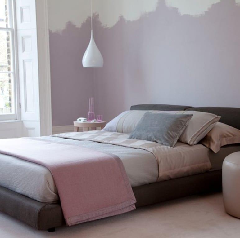 kleine schlafzimmer in lila streichen boisholz schlafzimmer - Schlafzimmer Lila Streichen