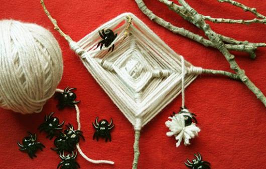 DIY Spinnengewebe als coole Halloween Deko Idee  fresHouse