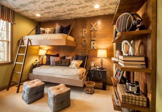 Kleines Kinderzimmer mit Hoch oder Etagenbett einrichten  fresHouse