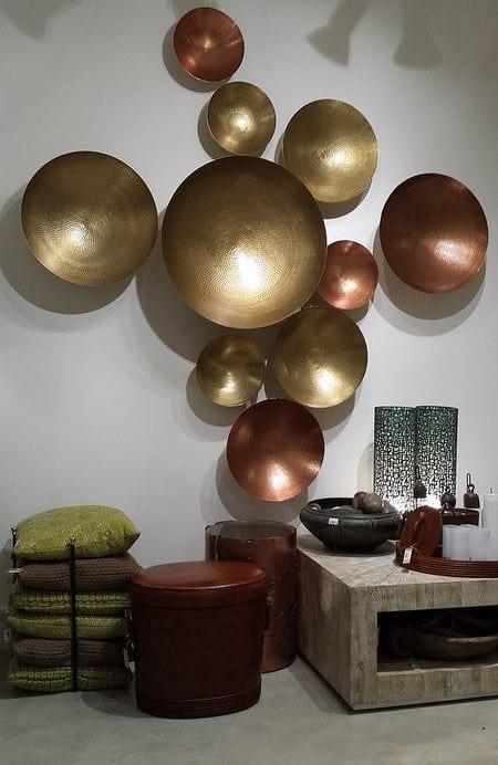 Dekoideen Wohnzimmer  Wnde kreativ gestalten  fresHouse