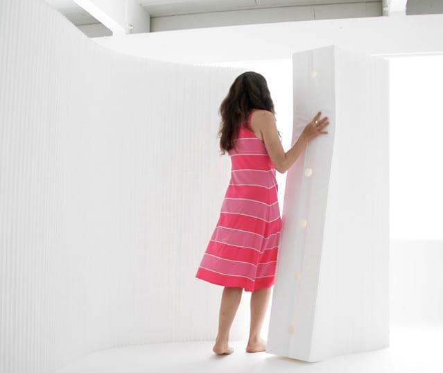 Trennwnde aus Papier und coole RaumteilerIdeen  fresHouse