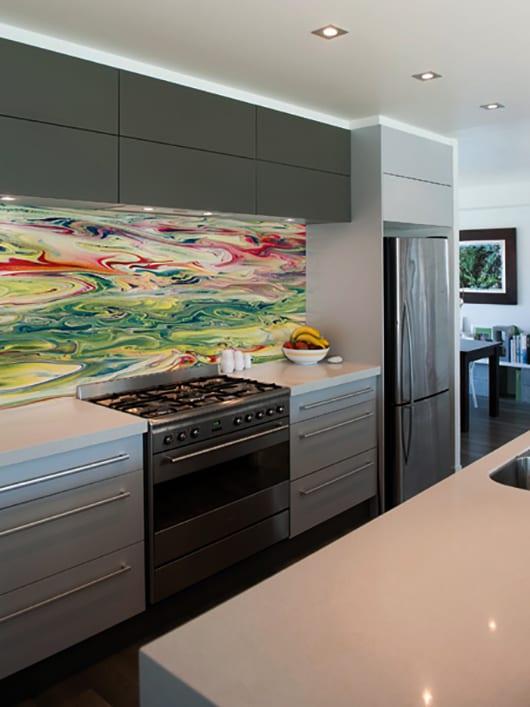 Wandgestaltung Ideen fr eine moderne Wandgestaltung mit Farbe  fresHouse