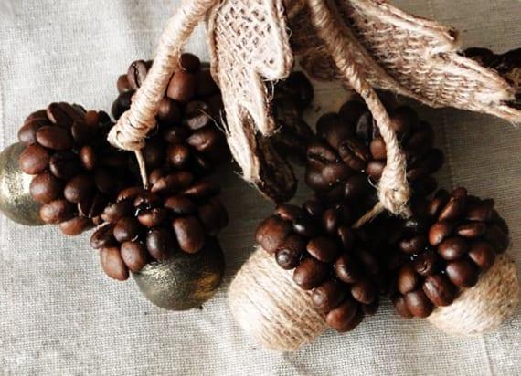 Bastelideen mit Kaffeebohnen  fresHouse