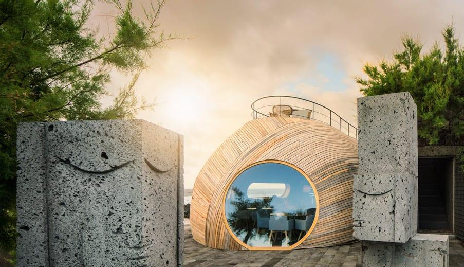 Bauen mit Holz  Cella RestaurantBar in Portugal  fresHouse