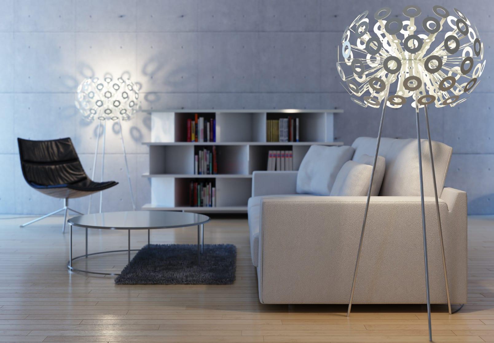 Neue Beleuchtungsideen fr Ihr Wohnzimmer  fresHouse