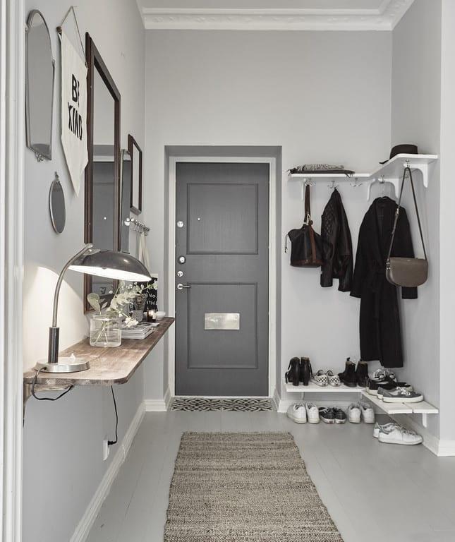 Der kleine Eingangsbereich  10 kluge Einrichtungsideen