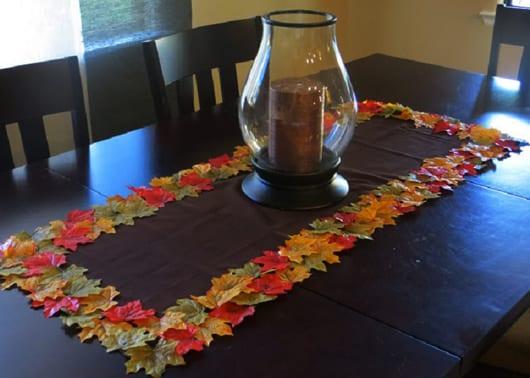 Herbstdeko basteln mit BumeBlttern  fresHouse