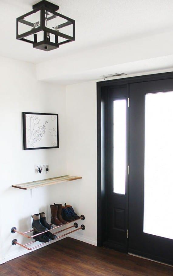 Der kleine Eingangsbereich  10 kluge Einrichtungsideen  fresHouse