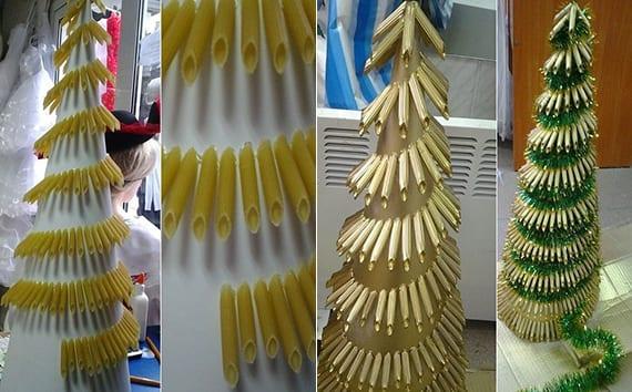 Weihnachtlich dekorieren mit DIYWeihnachtsbumen  fresHouse