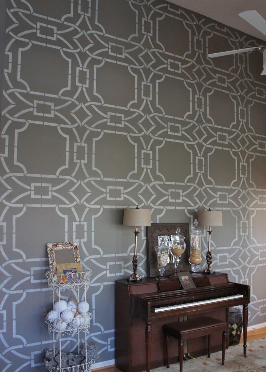 WandStreichenIdeen und Techniken fr moderne Wandgestaltung  fresHouse