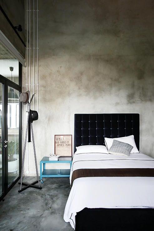 Estrich  der Fuboden im Industrial Style  fresHouse