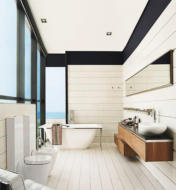 ... Kleine Und Moderne Badezimmer Mit Badewanne Freshouse
