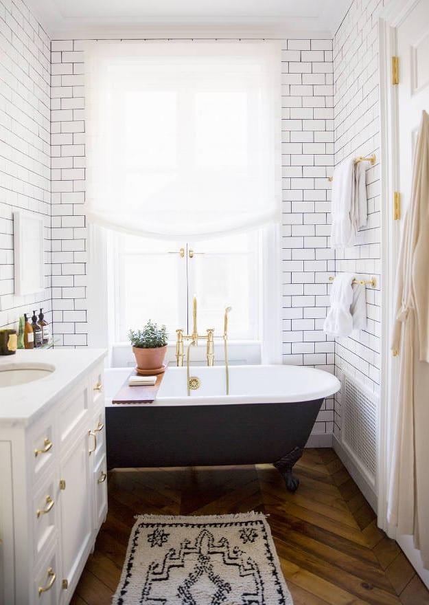 Attraktiv Kleine Und Moderne Badezimmer Mit Badewanne Freshouse