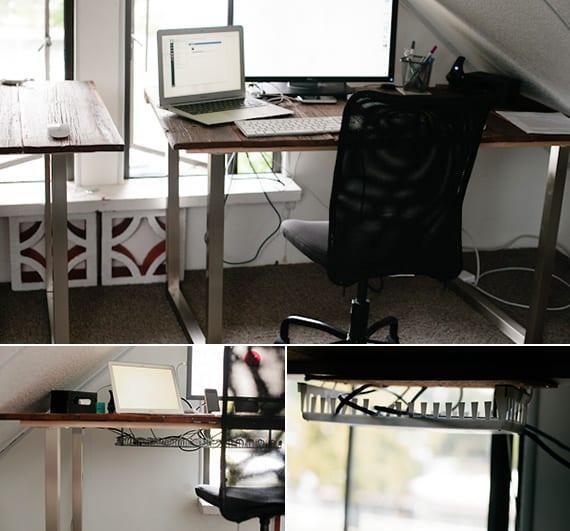 Schreibtisch selber bauen  3 Ideen mit Anleitung  fresHouse