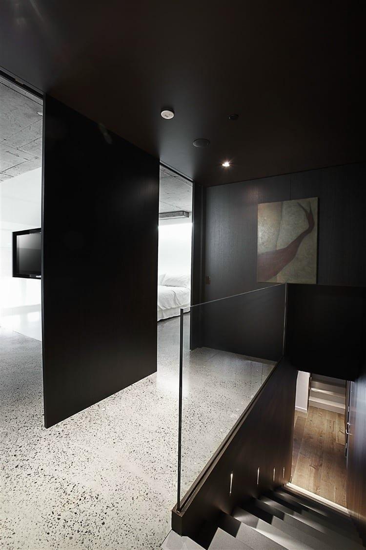 Schwarze Wnde  48 Wohnideen fr moderne Raumgestaltung