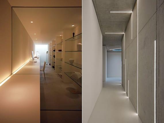 Beleuchtungsideen und das richtige Lichtkonzept mit LED Einbauleuchten  fresHouse