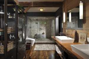 moderne Badezimmer im Vintage Style badezimmer ideen für ...