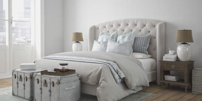 highlights im schlafzimmer setzen gruende dem boxspringbetten ... - Beispiele Modernes Wohnen Schlafzimmer Boxspringbett Leder