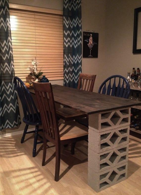 kleinen tisch selber bauen. Black Bedroom Furniture Sets. Home Design Ideas