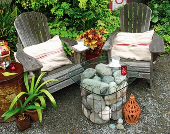 deko mit steinen im garten startseite design bilder. Black Bedroom Furniture Sets. Home Design Ideas