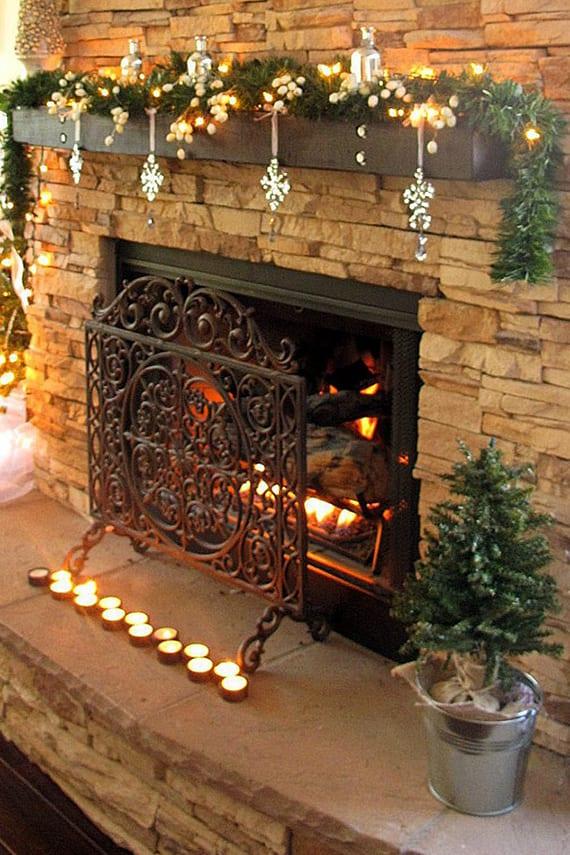 Wohnzimmer Deko Kerzen
