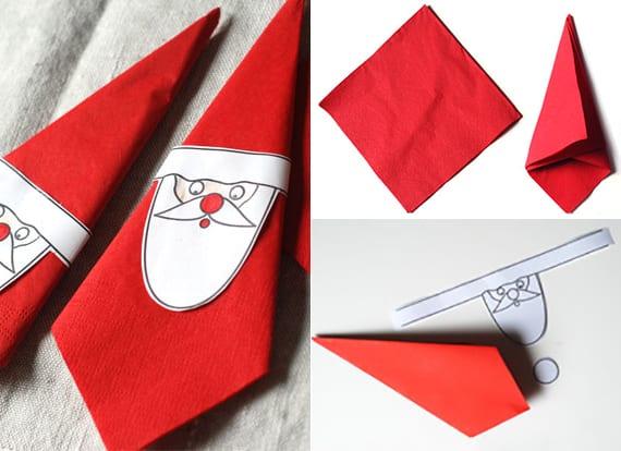 Servietten falten zu Weihnachten  40 schnelle und