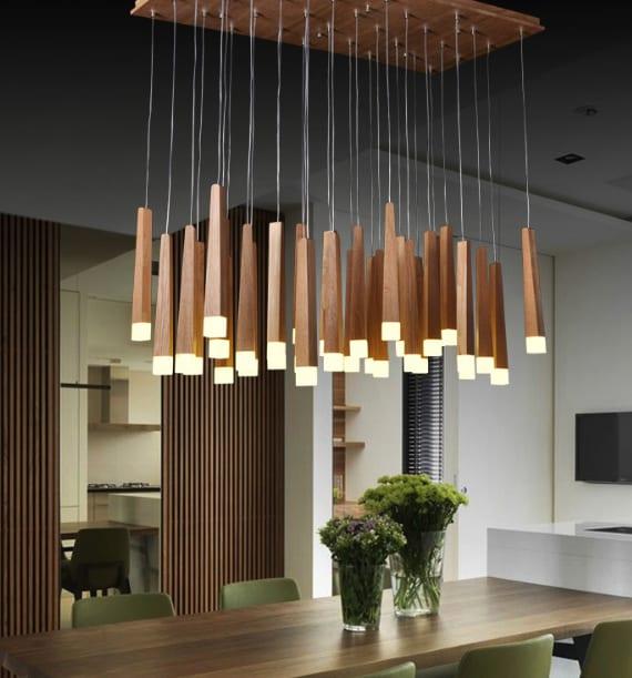 Holz und Licht  20 unglaubliche Designerlampen aus Holz  fresHouse