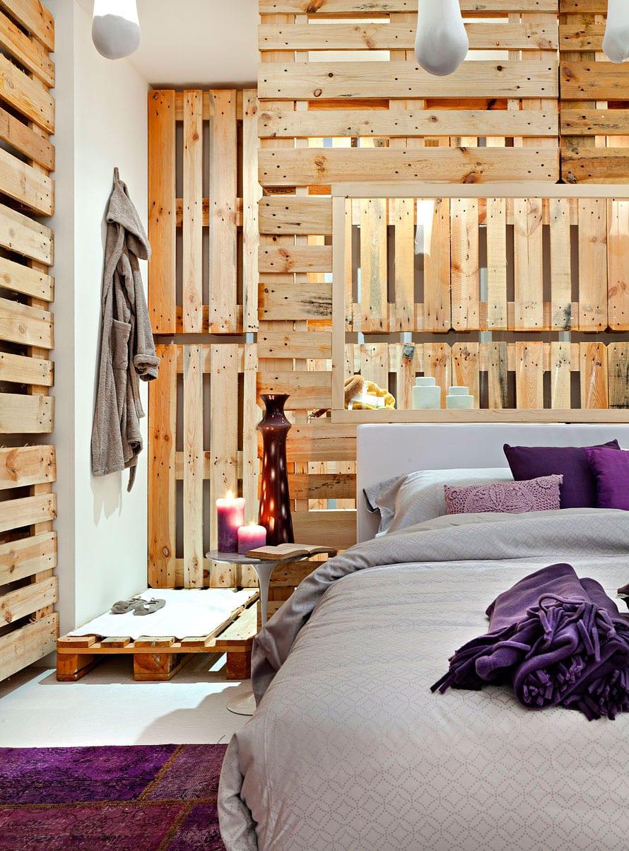 ... Wandgestaltung Ideen Mit Paletten Freshouse ...