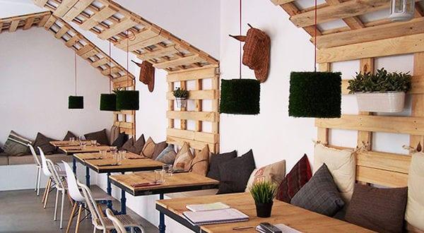 Wandgestaltung Ideen mit Paletten  fresHouse