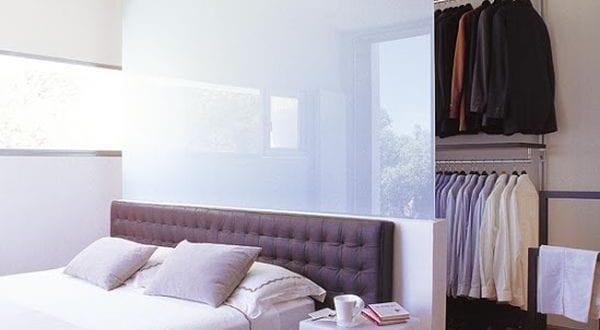Wohnideen Schlafzimmer  Den Platz Hinterm Bett In
