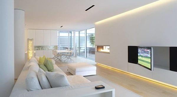 Lichtdesign eine spektakulre Raumgestaltung mit Lichteffekten fr Zuhause  fresHouse